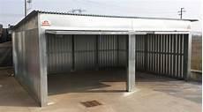 box auto in lamiera prezzi box auto prefabbricato in lamiera zincata componibile a