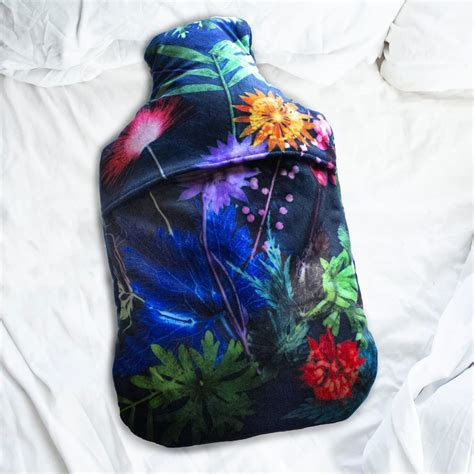 Personalised Hot Water Bottle Cover