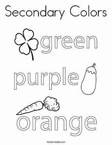 secondary colors worksheets 12813 secondary colors coloring page twisty noodle worksheets for secondary color