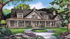 house plans with wrap around porches single story one story ranch style house plans wrap around porch
