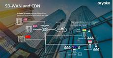 the difference between sd wan and cdn aryaka blog