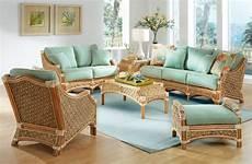 Wicker Living Room Sets wicker aloha rattan furniture sets