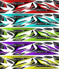 Variasi Motor Beat Karbu by Jual Striping Sticker Stiker Lis Variasi Honda Beat Karbu
