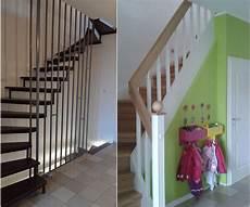 offene treppe schließen vorher nachher arcus treppen treppentausch alt gegen neu