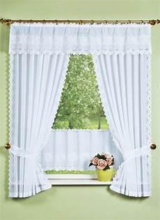 gardinen landhaus querbehang mit plauener spitze in verschiedenen farben