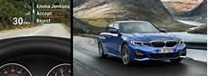 what is the up display in the 2019 bmw 3 series