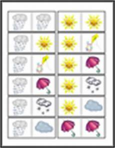 weather domino worksheets 14528 weather worksheet new 720 weather dominoes printable