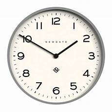 buy newgate clocks number one echo wall clock posh gray