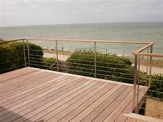 rambarde pour terrasse terrasse teck re verre recherche terrasse en