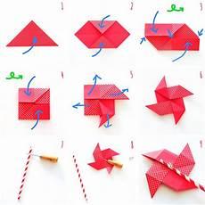 origami anleitung einfach s 252 223 es origami windrad schnell und einfach selbermachen