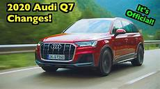 when will the 2020 audi q7 be available refreshed 2020 audi q7 s changed