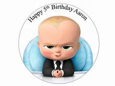 boss baby 7 edible cake topper for sale in dalkey dublin from flour power
