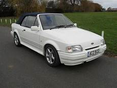 1988 Ford Xr3i Cabriolet Mk4 In Mint Condition