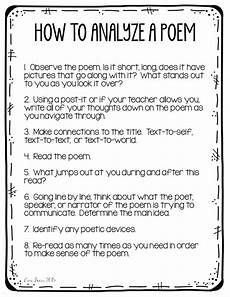 introduction to poetry worksheets middle school 25328 poetry analysis for middle school students