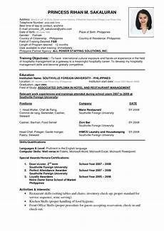 download resume formats pdf templates