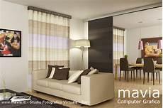 tende per soggiorni moderni arredamento di interni rendering interni 3d mobili