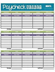 easy printable budget worksheet get paid weekly and gets paid bi weekly so there