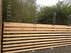 Gartenzaun Selber Bauen Holz - fencing system where you can find the posts i