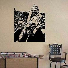 green bay packers wall stickers vince lombardi green bay packers football vinyl wall