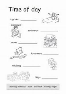 time of day worksheets esl 3795 times of the day esl worksheet by schlumpf8