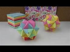 Origami Modulares Origami Anleitung 3d Aus