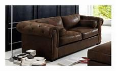 wildleder chesterfield sofa leder rot braun
