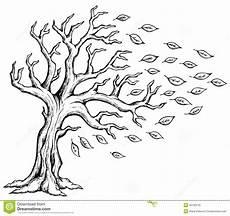 Ausmalbilder Herbst Wind Herbstbaum Themabild 2 Lizenzfreie Stockfotos Bild 33180278