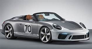 2019 Porsche 911 Speedster Is Happening Heres The