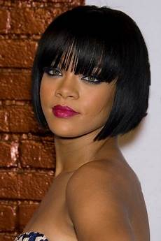 short to medium hairstyles for black