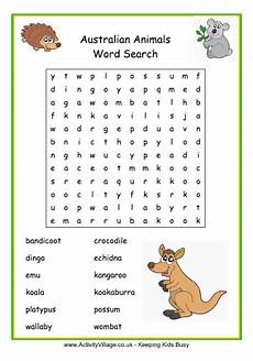 animal word search worksheets 14374 australia day 2016 activities for susan day