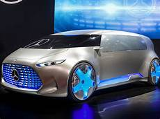 Mercedes Self Driving Luxury Concept Car Business Insider