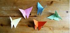 Origami Schmetterlinge Mit Kindern Basteln