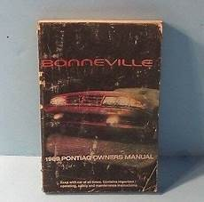 free car manuals to download 1989 pontiac gemini engine control 89 1989 pontiac bonneville owners manual ebay