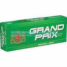 Cigarette Menthol Prix Grand Prix Menthol Gold 100 S Cigarettes Cheap