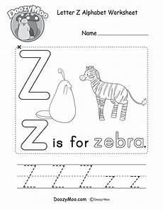 preschool worksheets letter z 24263 uppercase letter z tracing worksheet doozy moo
