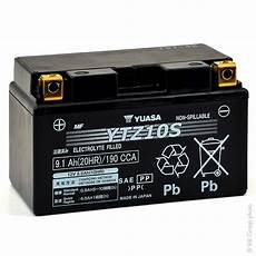 Batterie Moto Yuasa Ytz10s 12v 8 6ah Mot9214 All