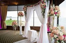 a waterfront winter wedding with blush gold details in ta fl inside weddings