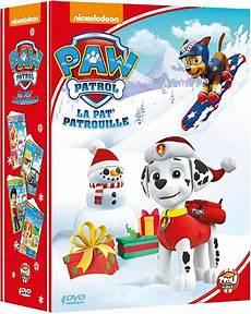 paw patrol la pat patrouille le coffret 4 dvd dvd pas