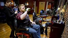 in portland s growing manscape salons offer much more than a shave and a haircut the portland