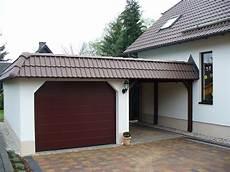 garage auf der garage carport kombination carport scherzer