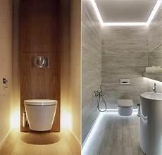 bad modern gestalten mit licht kleines badezimmer ideen