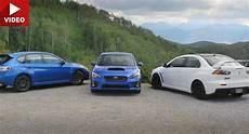 Subaru Or Evo by Which Subaru Wrx Sti Is A Match For A Mitsubishi Evo X