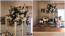 diy wooden dowel centerpiece diy tall centerpiece diy wedding decor youtube