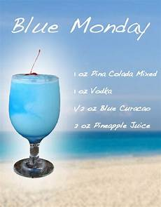 blue monday frozen drink recipe hmmmmm going to make these mondays this summer drinks
