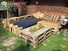 Gartengestaltung Selber Machen Bilder - garden pallet lounge 1001 pallets