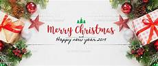 merry christmas and happy new year 2019 decorative gift box ornament white table banner