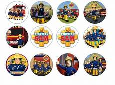 fireman sam edible cupcake toppers for sale in dalkey dublin from flour power