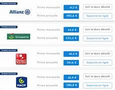 devis assurance auto en ligne comparer 18 assurances auto meilleurs tarifs 2020