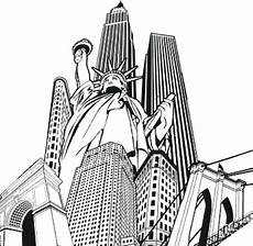 Malvorlagen New York Xx1 New York City Skyline Coloring Pages At Getcolorings