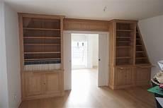 biblioth 232 ques et meuble bas sur mesure sous un toit mansard 233